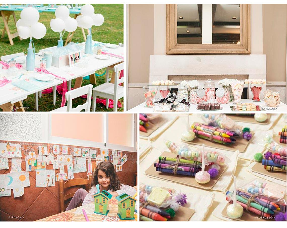 Entretener a los ni os en las bodas wedding passion - Mesas para ninos pequenos ...