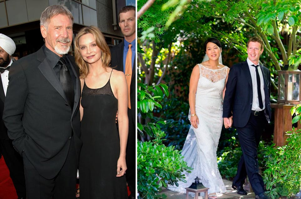 Harrison Ford Wedding Harrison Ford Calista