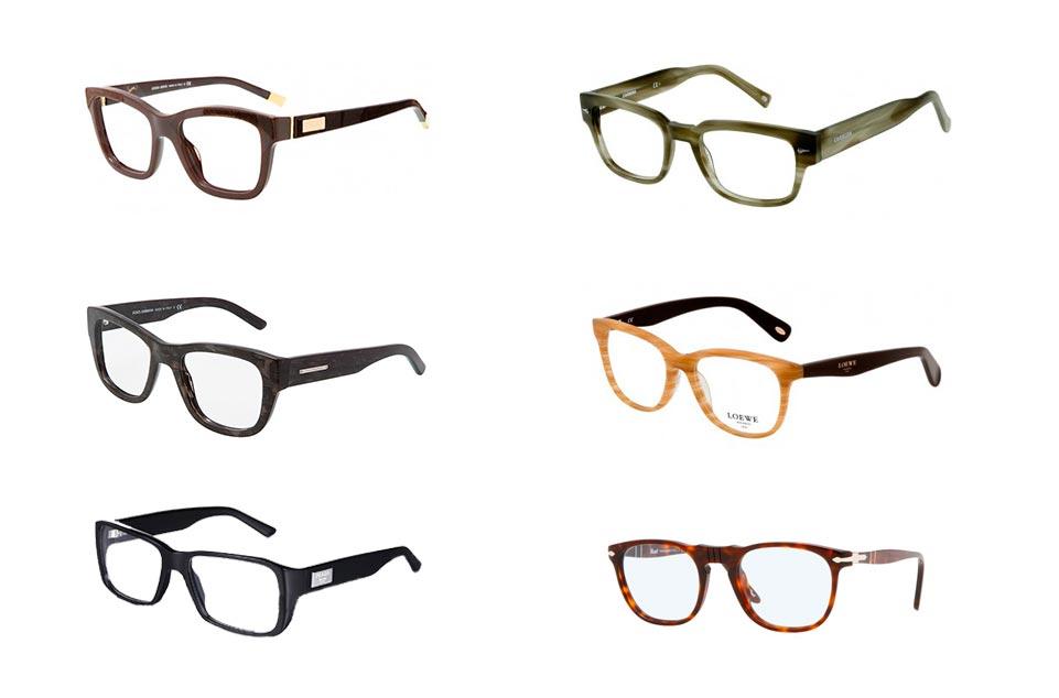 Un novio con gafas www.weddingpassion.es De izquierda a derecha, de arriba a abajo: Armani/ Carrera/ Dolce & Gabbana/ Loewe/ Prada/ Persol