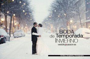 Boda de temporada: invierno