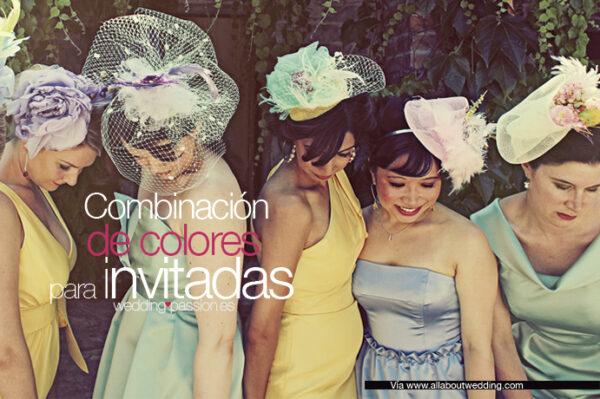 Combinación de colores para invitadas