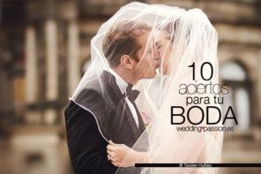 10 aciertos para tu boda