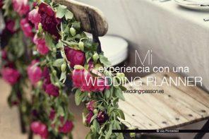 Mi experiencia con una wedding planner