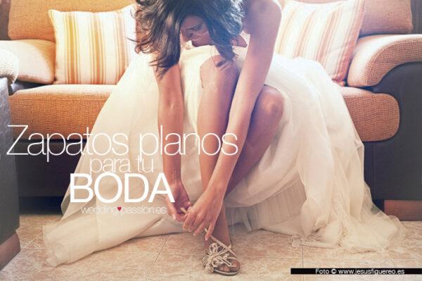 Zapatos planos para el día de tu boda -www.weddingpassion.es-foto-www.jesusfiguereo.es 691 × 460