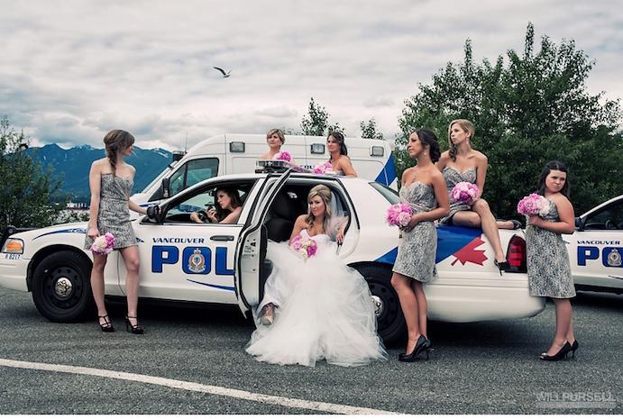 Opciones originales para llegar a tu boda www.weddingpassion.es via willpursell.com