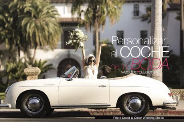 Personalizar el coche de tu boda