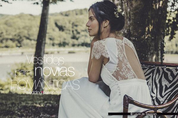 Vestidos para novias románticas