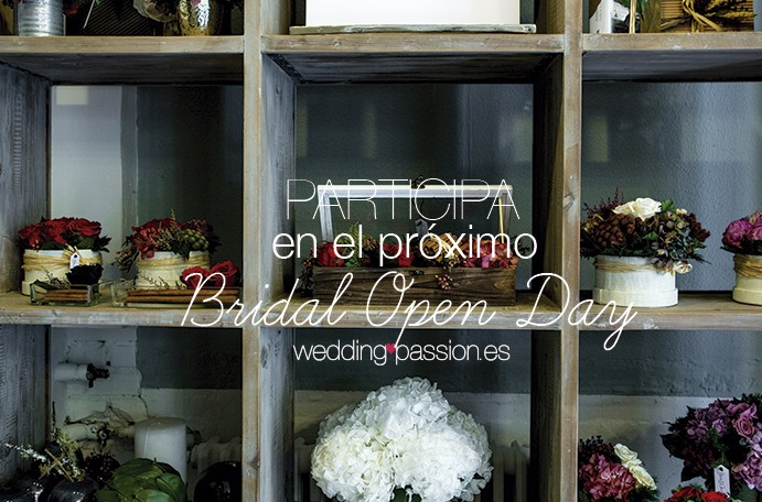 Tarifas Bridal Open Day Participa en el próximo bridal open day 691x469