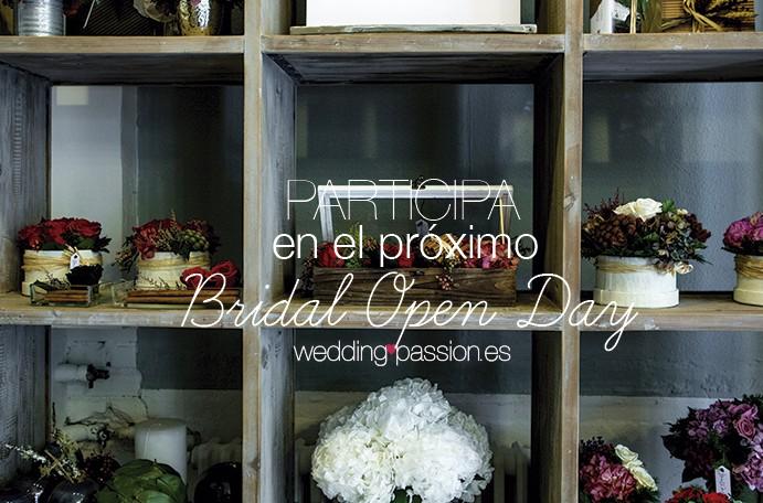 Tarifas Bridal Open Day Participa en el próximo bridal open day 691x469