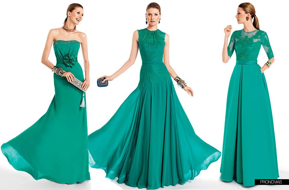 72d42871a Vestidos para damas de honor color verde jade – Vestidos madrina