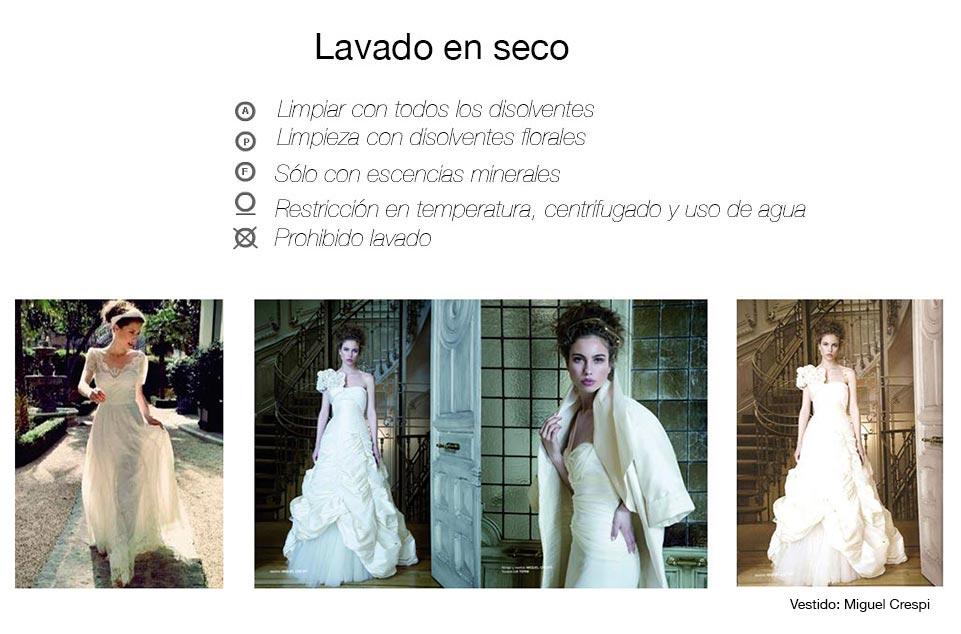 Como lavar y planchar un vestido de novia