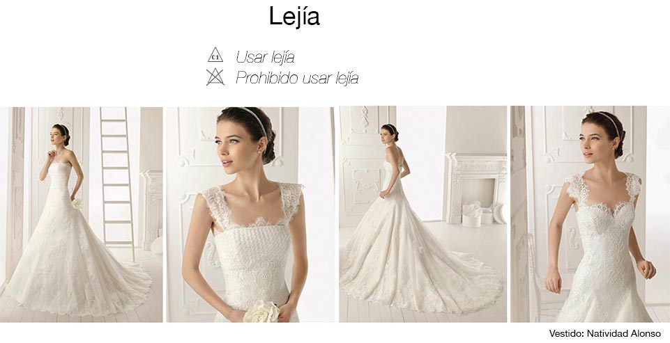 Con que lavar vestido de novia