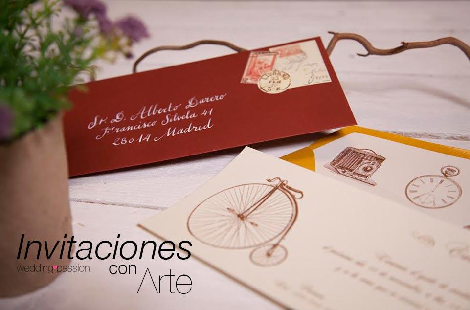 Invitaciones con Arte InvitArte