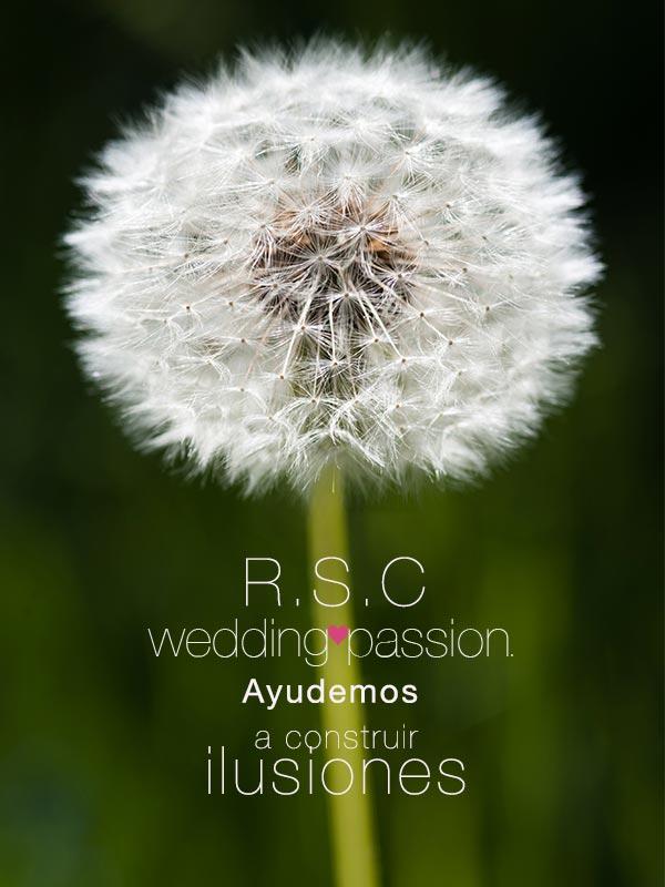 RSC responsabilidad social cívica www.weddingpassion.es