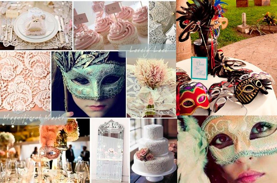 Una boda de carnaval wedding passion - Mascaras venecianas decoracion ...