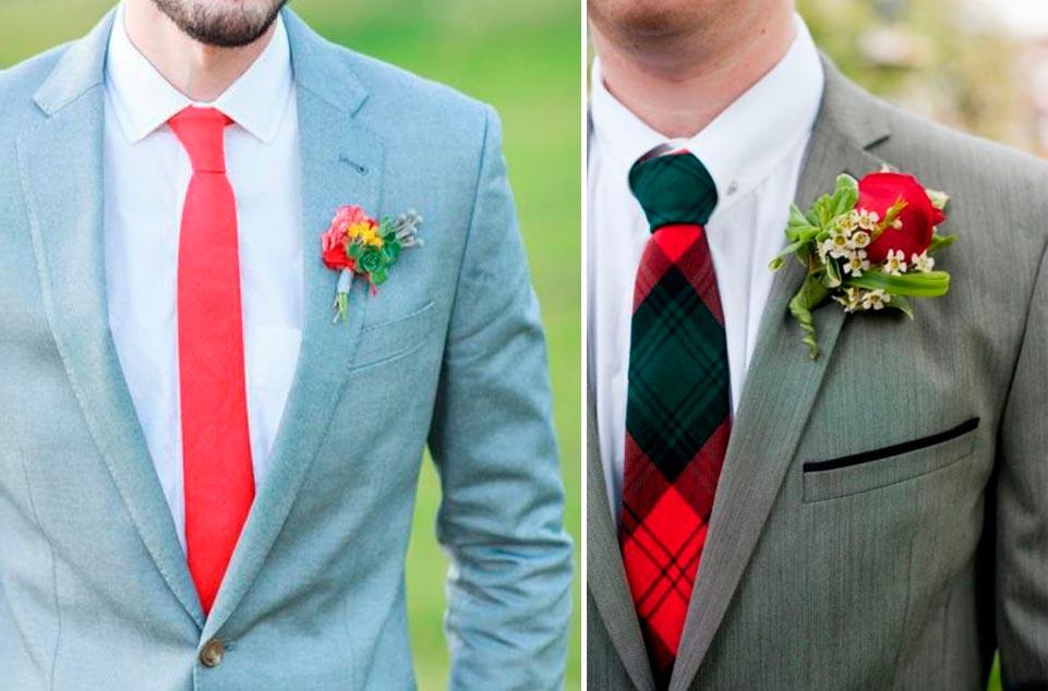 guia-practica-para-elegir-corbata-www.weddingpassion.es-corbata roja y cuadros