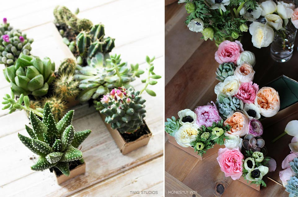 DIY Letras con flores para decorar weddingpassion.es blog de boda foto twig studios 961x633