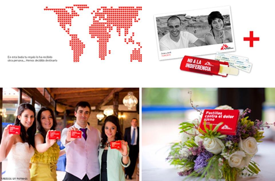 Regalos solidarios para bodas Médicos sin fronteras 961 x 634