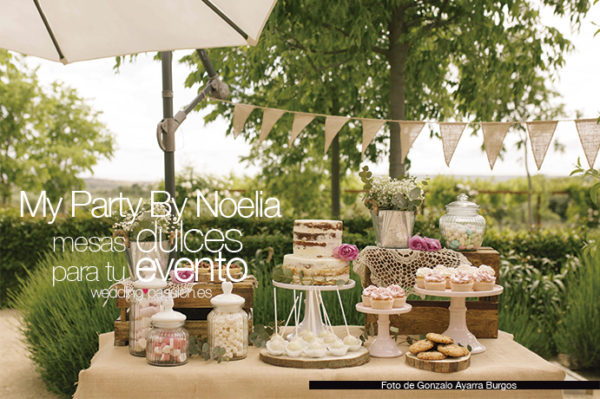 My Party By Noelia, mesas dulces para tu evento