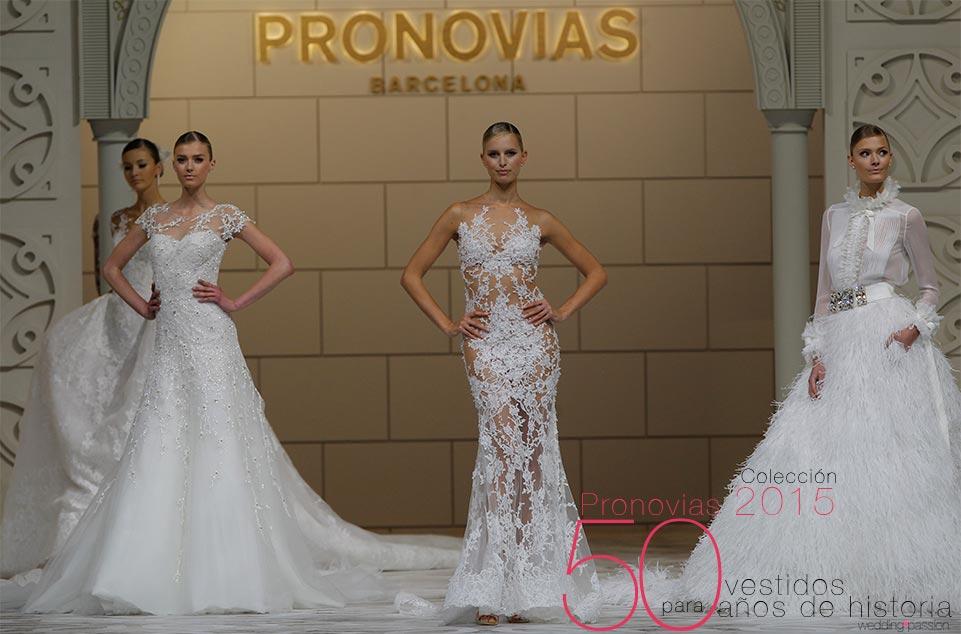 vestidos pronovias 50 vestidos, 50 años de historia - wedding passion