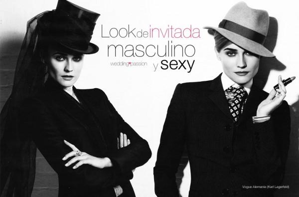 Look de invitada masculino y sexy