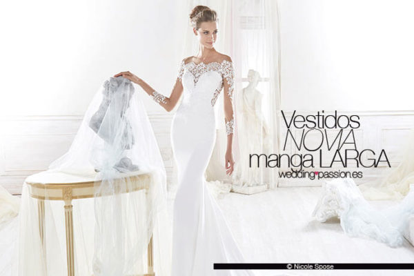 vestidos novia manga larga-691x460