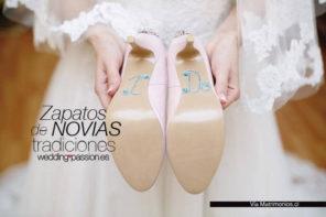 Zapatos de novias, tradiciones
