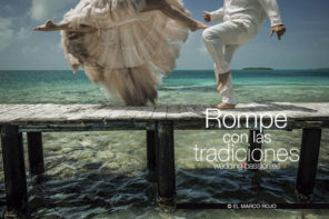 Tradiciones boda, rompe con las tradiciones