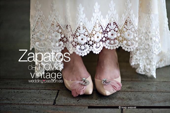 zapatos novia vintage, una apuesta de estilo - wedding passion