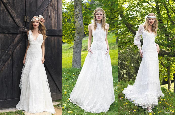 Vestidos de novia boho chic y tendencia - Wedding Passion