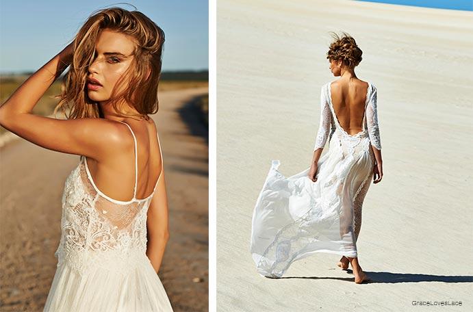 Vestidos de novia boho–chic