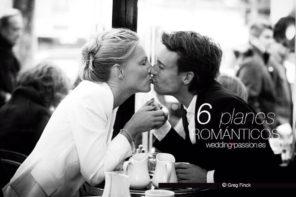Planes en pareja, 6 planes Románticos