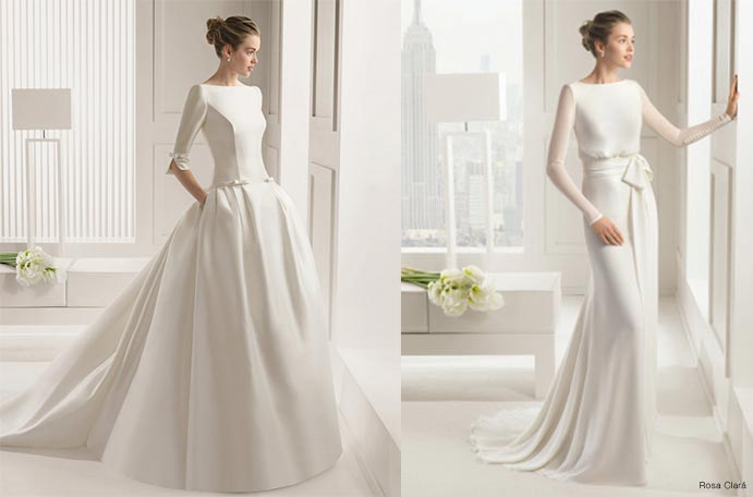 Vestidos de novia invierno ideales - Wedding Passion