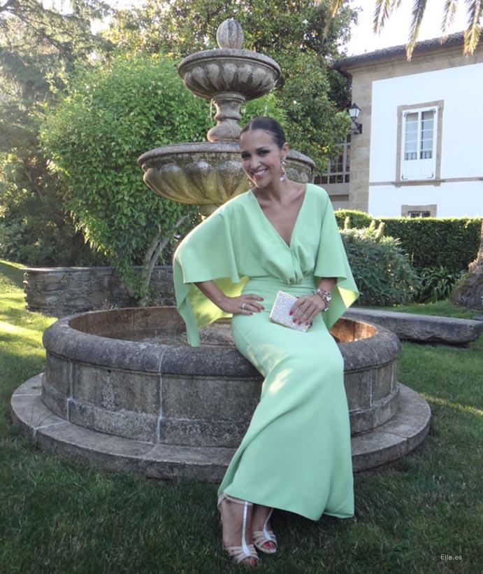 Las invitadas perfectas del 2014 look invitada vestido verde 691 x 820