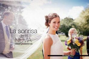 La sonrisa de la novia, perfectas y brillantes