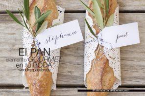 Menú de boda, el pan elemento gourmet en tu boda