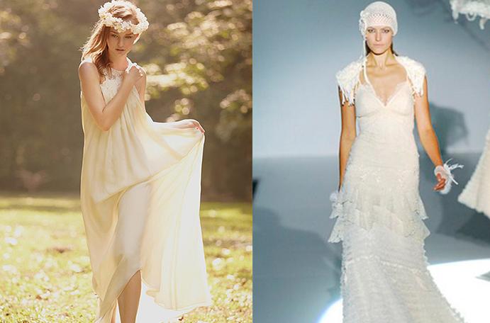 vestido de novia: su evolución en el tiempo.