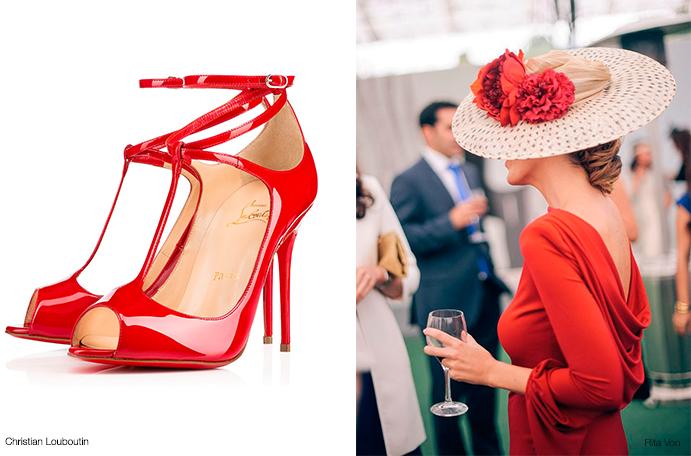 Combinacion-de-colores-para-invitadas-www.weddingpassion.es-foto-looks zapatos rojos 691 × 456