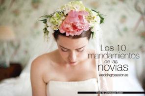 Preparativos boda, los 10 mandamientos de las novias