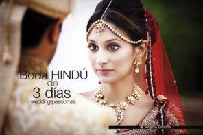 Boda hindú, 3 días de ceremonias y eventos