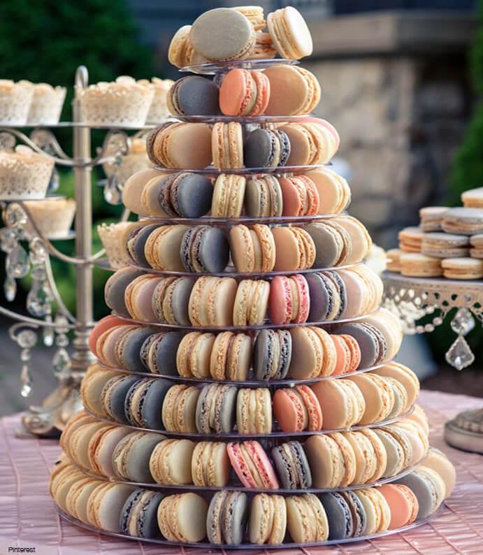 mesas de dulces macaron 691 x 794