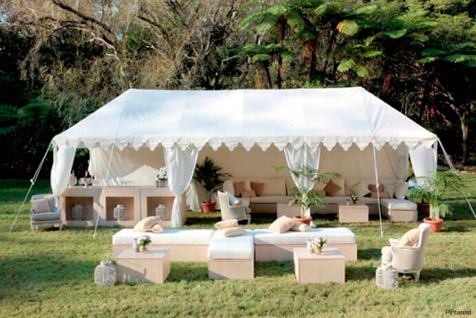 chill out tipi blanco boda 691