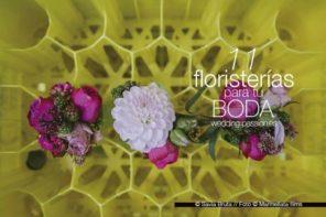 Adornos florales para bodas,11 floristerías para tu boda