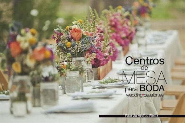 decoracion de mesas para bodas