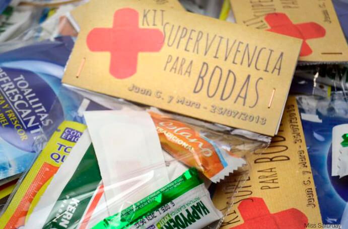 kit de supervivencia caramelos aspirinas paracetamol 691 x 456