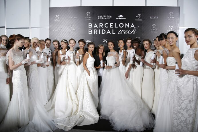 Rosa Clara 2016 Barcelona Bridal Week 691 x 461