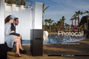 Photocall boda: Top 5 Fotomatón