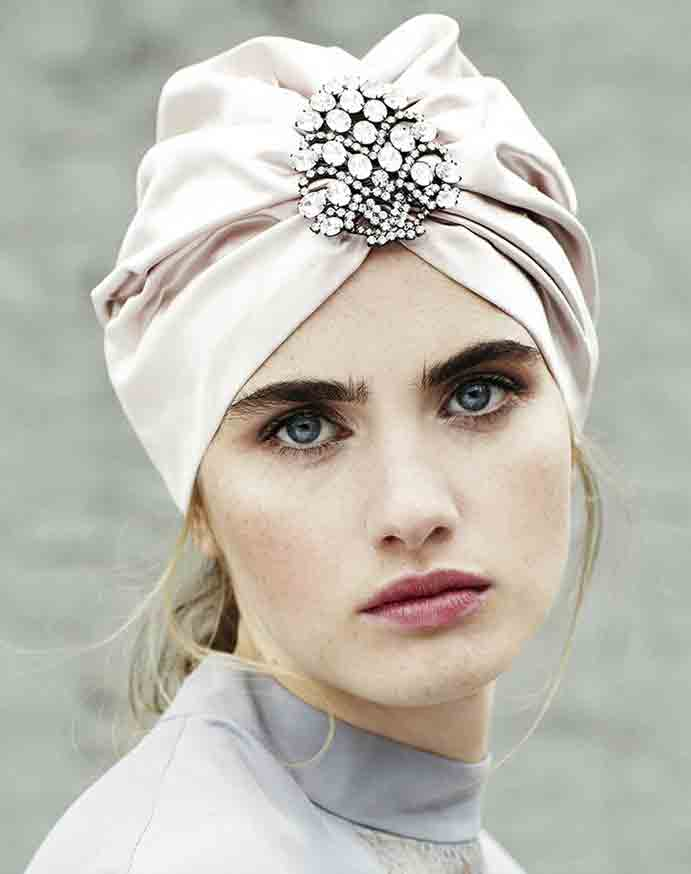 De boda con turbante y mucho estilo wedding passion for Turbante boda