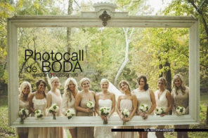 Photocall de boda, divertidas y casi ¡imprescindible!