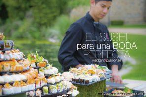 Sushi para bodas, el sushi para una boda perfecta